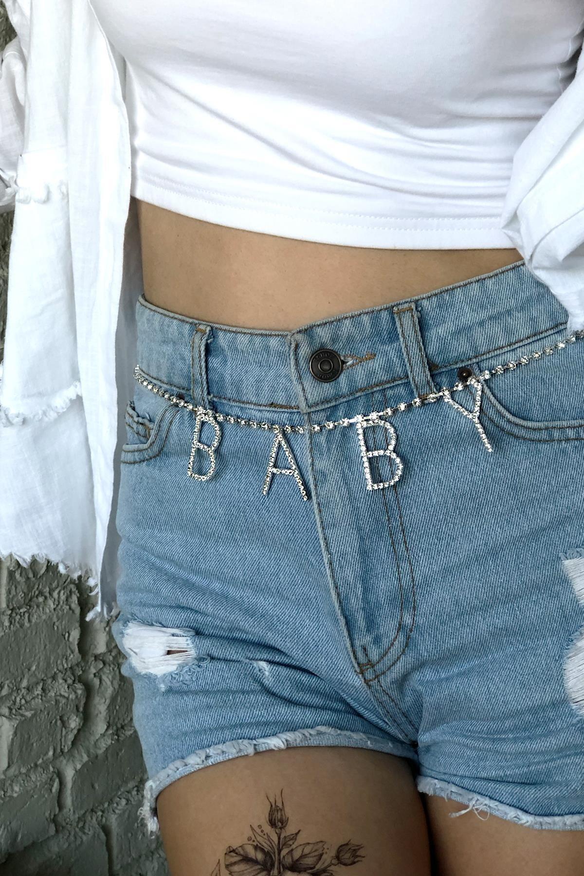 New Obsessions Kadın Baby Zincir Kemer TM-1199