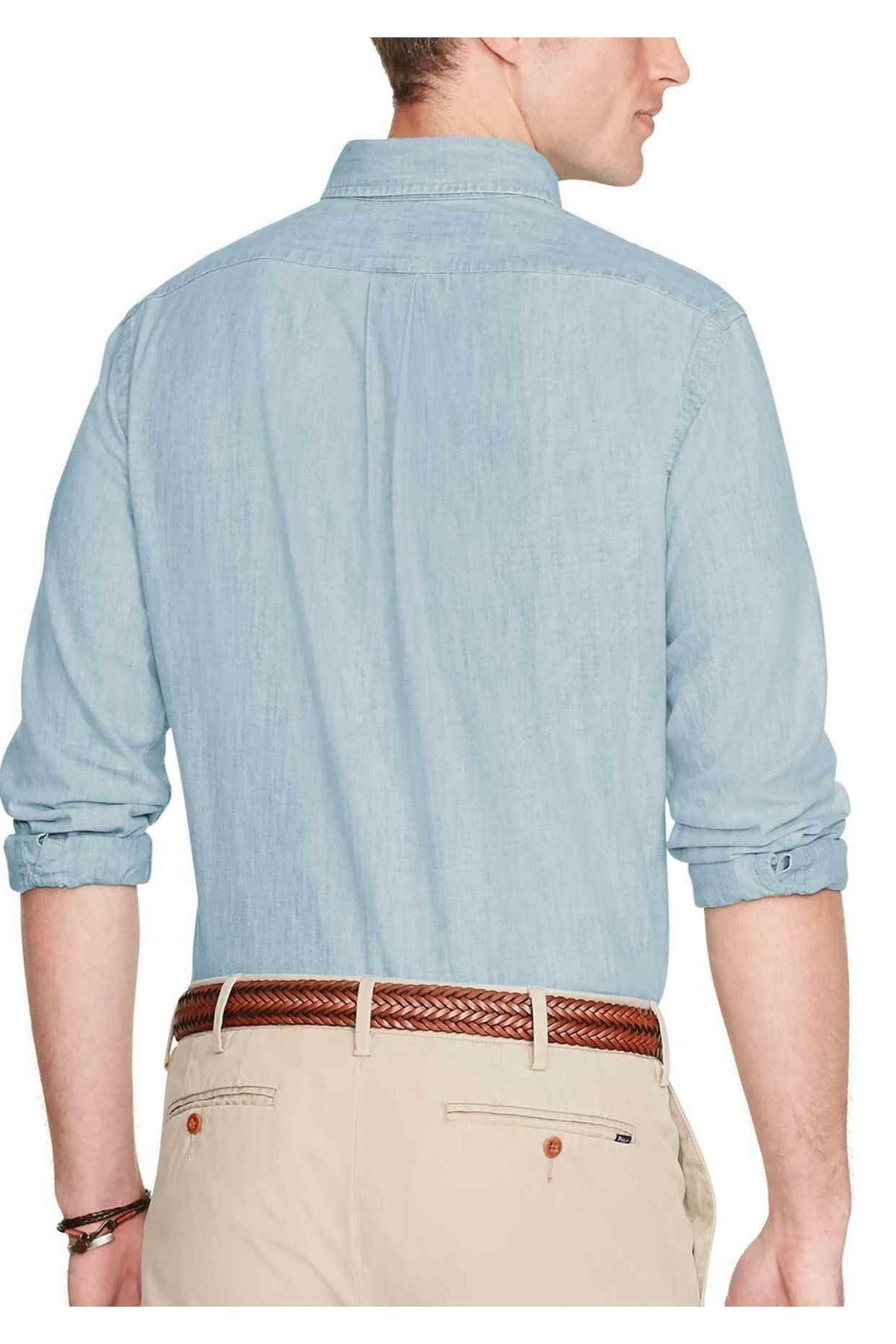 Polo Ralph Lauren Erkek Denim Gömlek 3830056452148 2