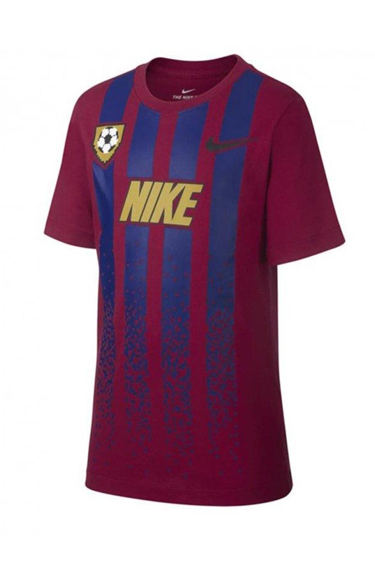 Nike Kids Bordo Çocuk Barcalona Boys Forma