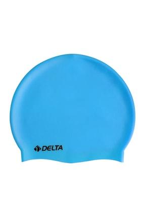 Delta Silikon Bone Deluxe Yüzücü Havuz ve Deniz Bonesi (Düz Renk)