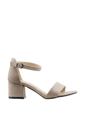 Ayakland Bej Kadın Topuklu Ayakkabı 19YAYAYK0000076