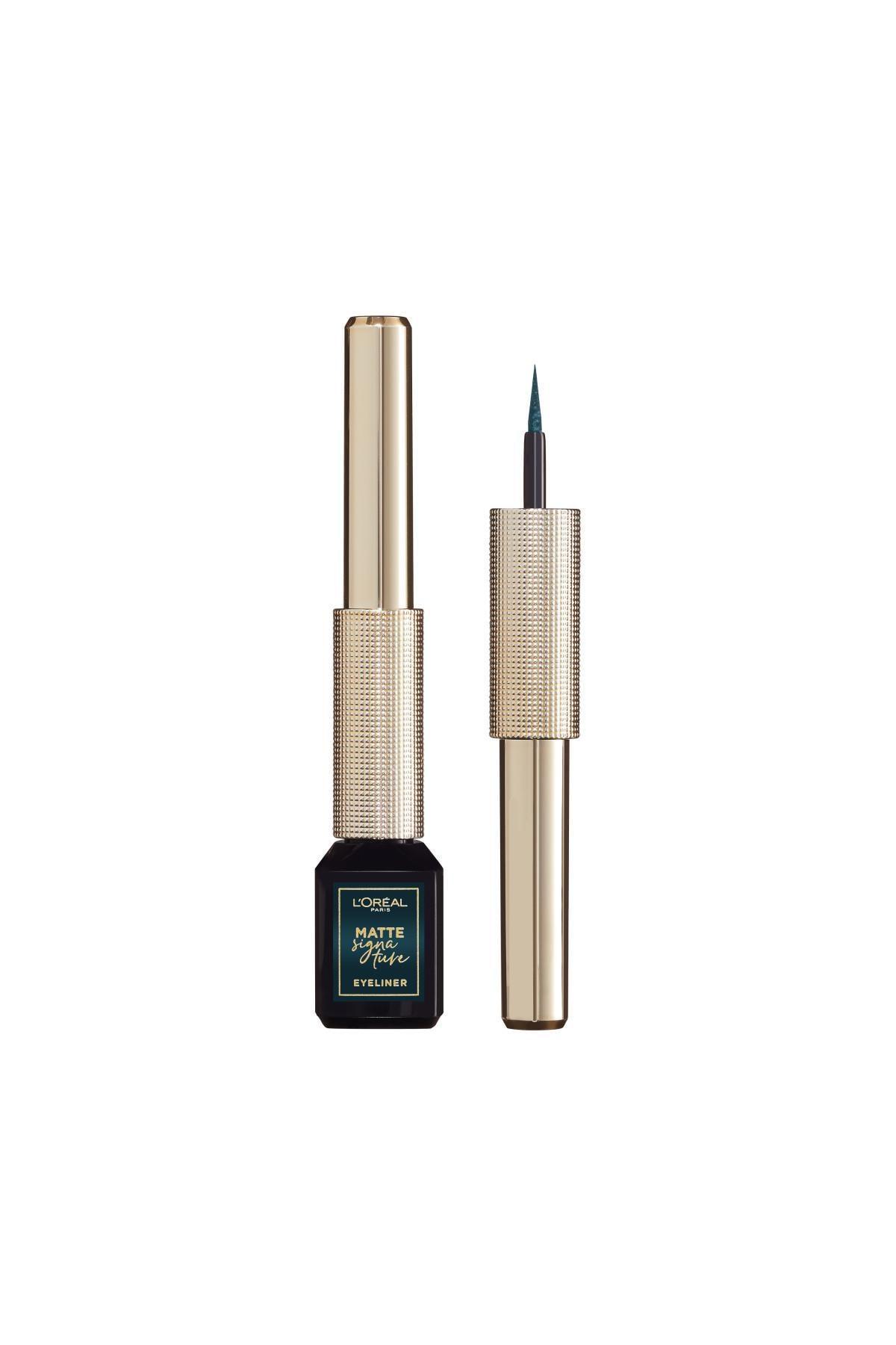L'Oreal Paris Mat Eyeliner - Matte Signature Eyeliner 04 Emeraude 30175259