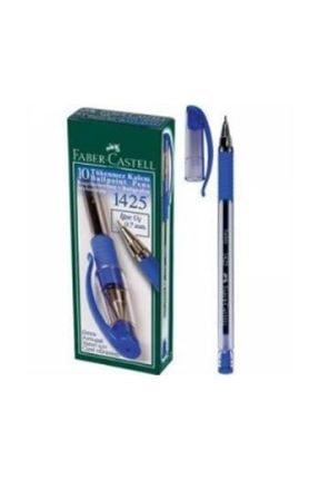 Faber Castell 1425 Mavi Tükenmez Kalem 10'lu