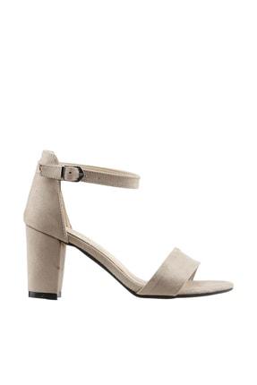 Ayakland Bej Kadın Topuklu Ayakkabı 19YAYAYK0000075