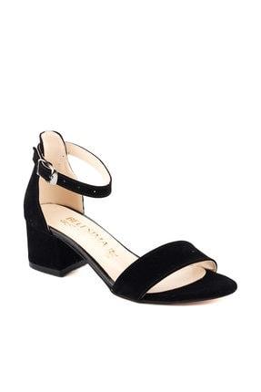 Ayakland Siyah Kadın Topuklu Ayakkabı 18A02549