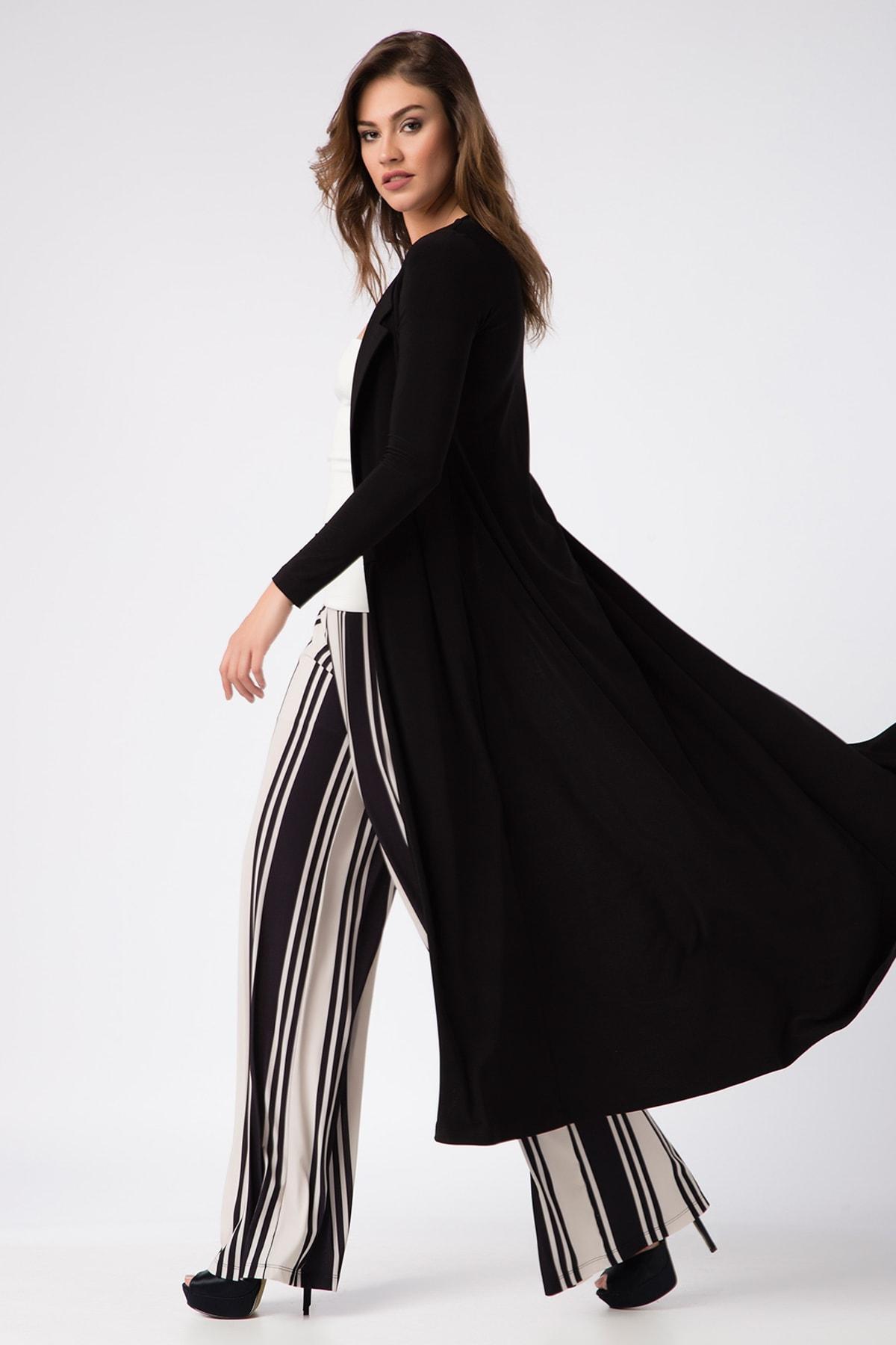 Laranor Kadın Siyah Kimono Hırka 17L5257 2