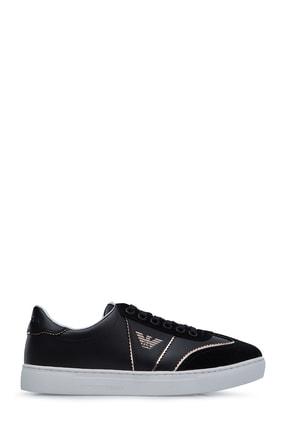 Emporio Armani Kadın Siyah Sneaker S X3X083 XL842 A327