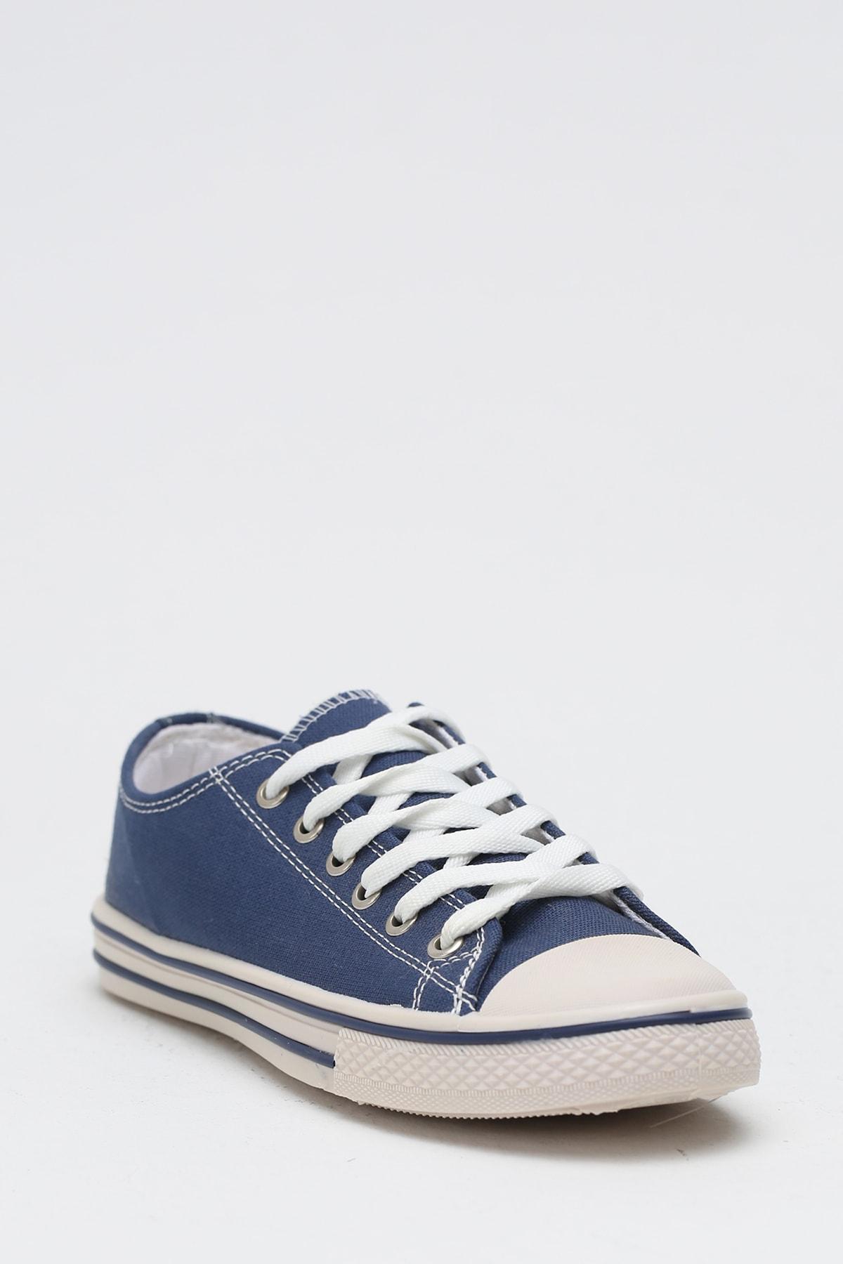 Ayakkabı Modası K.Lacivert Kadın Ayakkabı M9999-19-100165R 2
