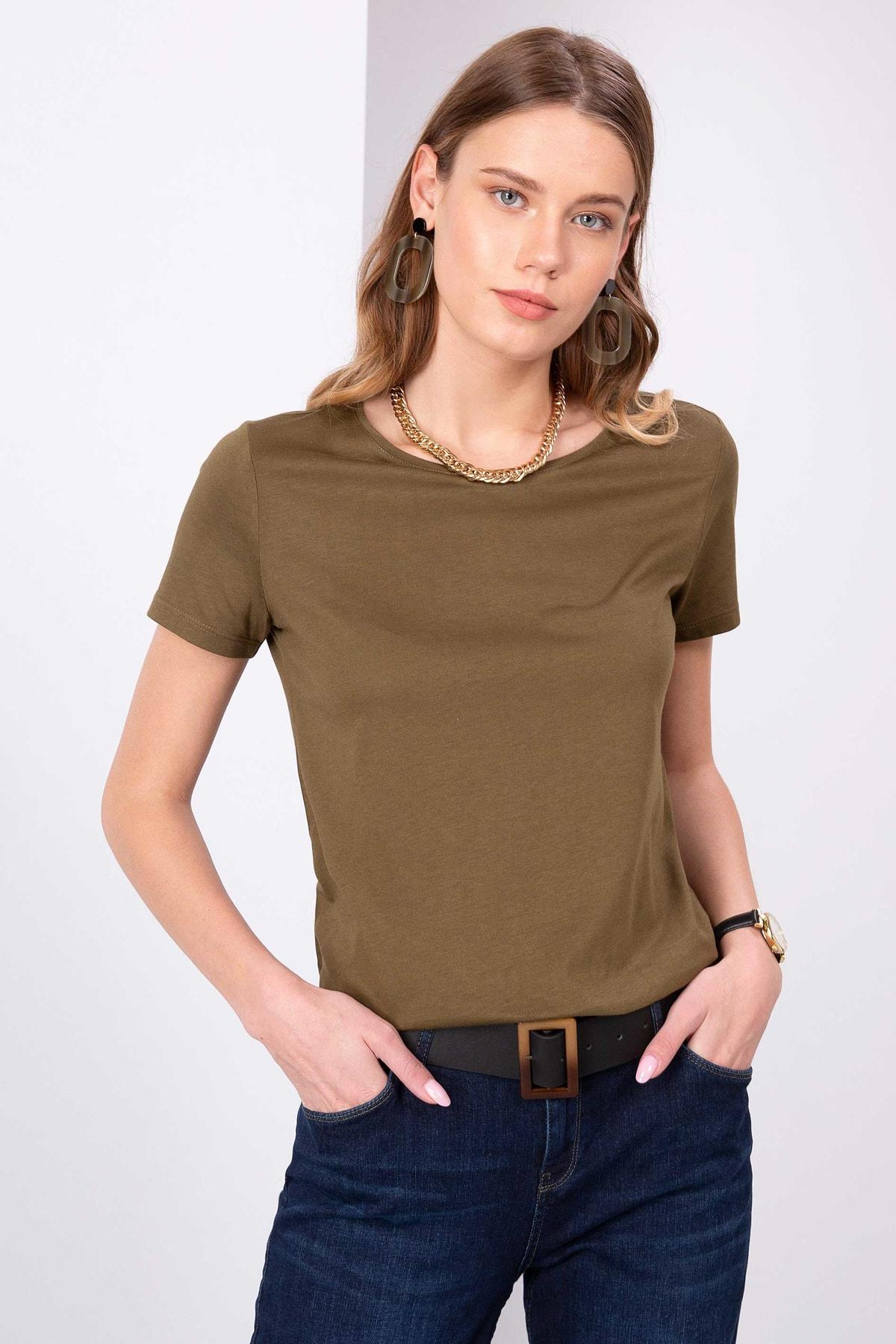 Pierre Cardin Kadın T-Shirt G022SZ011.000.762228 1