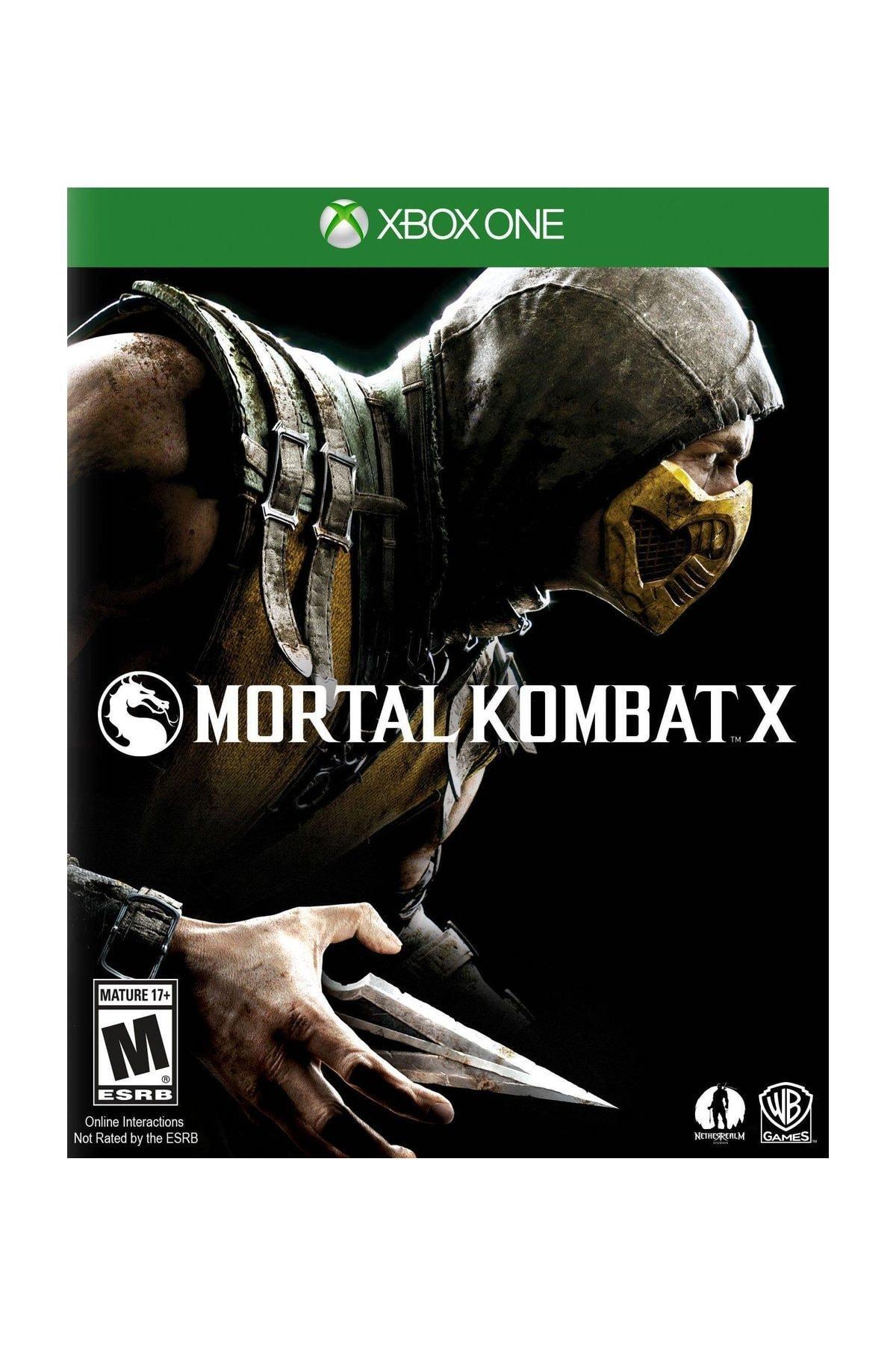 Warner Bros Mortal Kombat X Xbox One Oyun 1