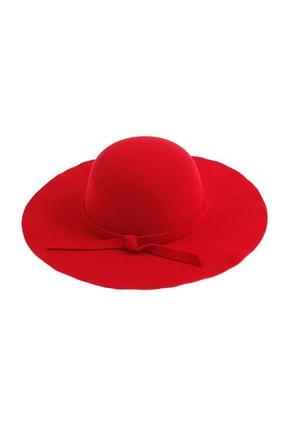 Bay Şapkacı Geniş Kenarlı Kaşe Fötr Şapka