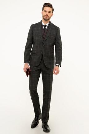 Pierre Cardin Erkek Antrasit Slim Fit Takım Elbise G021GL001.000.883652