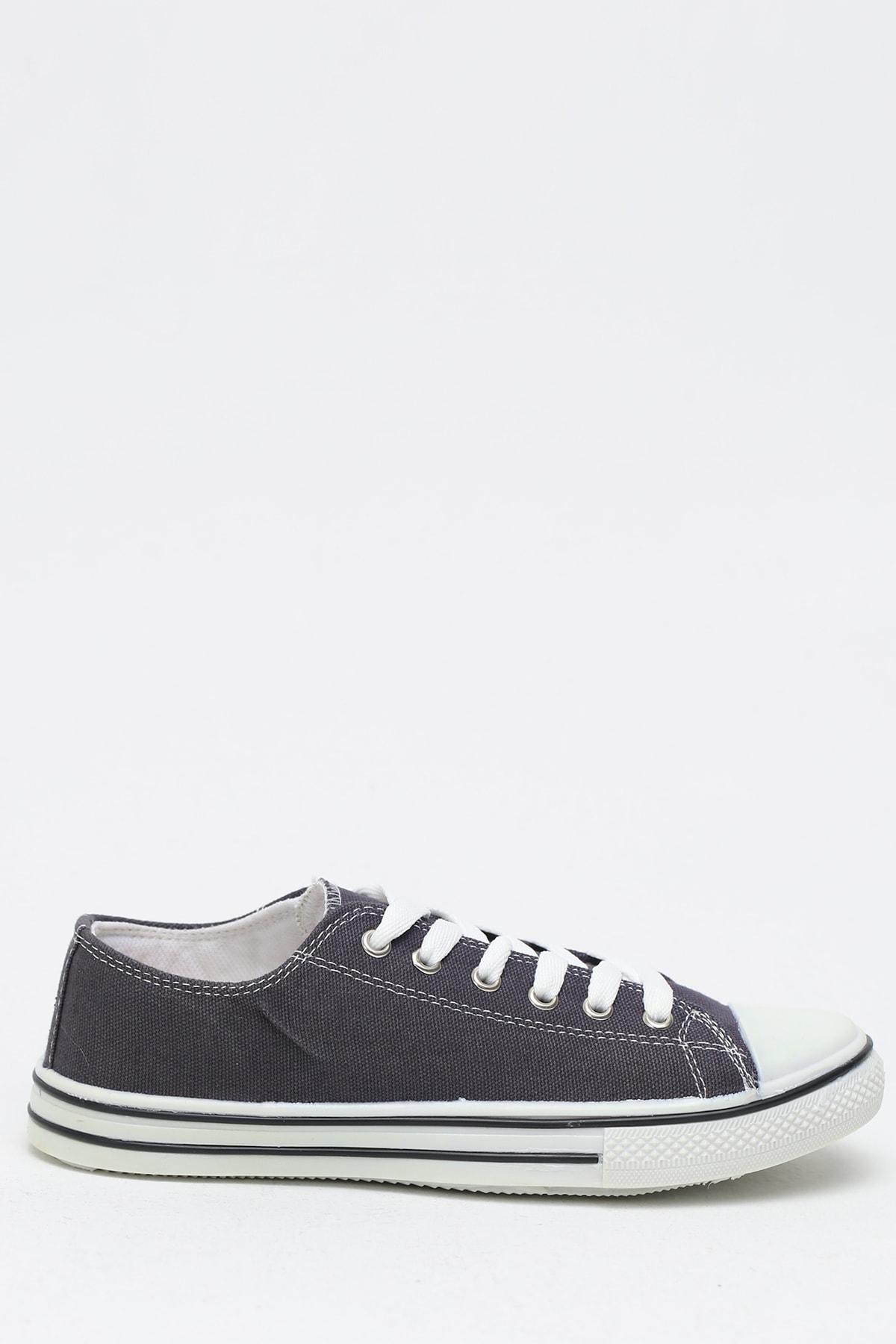 Ayakkabı Modası Füme Krem Kadın Ayakkabı M9999-19-100165R 1