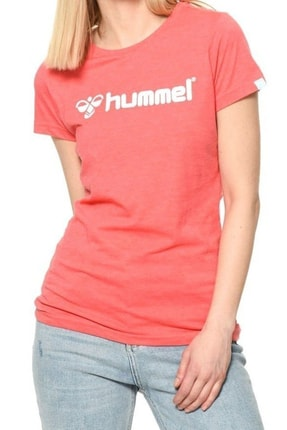 HUMMEL HMLMARIHU T-SHIRT S/S Turuncu Kadın T-Shirt 100581131