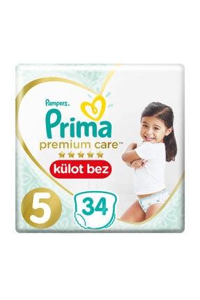 Prima Külot Bez Premium Care 5 Beden 34 Adet