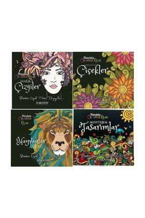 Karatay Yayınları Büyükler Için Boyama Kitabı Seti 4 Kitap