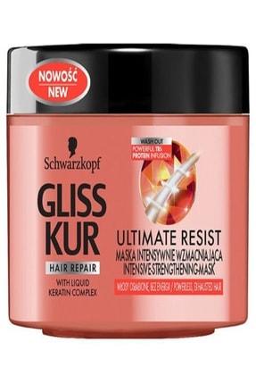 Gliss Saç Bakım Maskesi - Magnıfıcent Strenght 200 ml 9000100998895