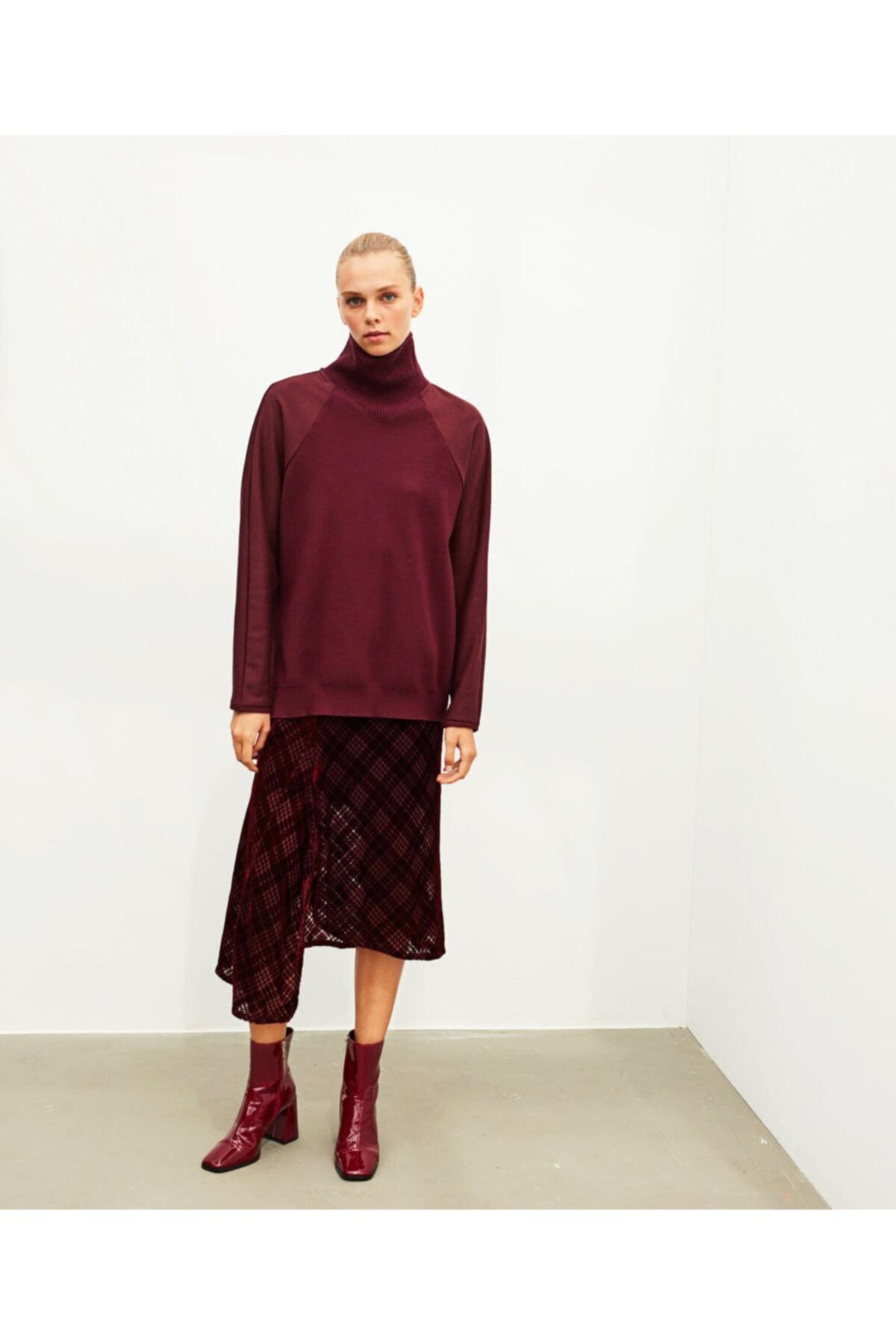 İpekyol Kumaş Mixli Elbise 2