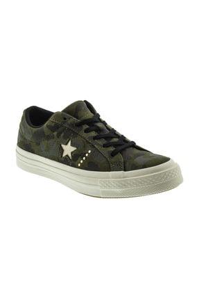 converse Kadın One Star Ox Kamuflaj Sneaker 159703C.342