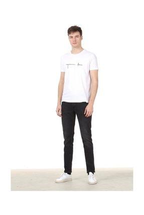 Ramsey Baskılı Örme T-Shirt