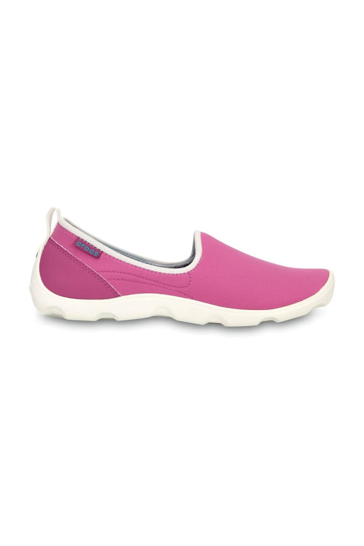 Crocs DUET BUSY DAY SKIMMER VIB Koyu Mor Kadın Sneaker Ayakkabı 100528956 2