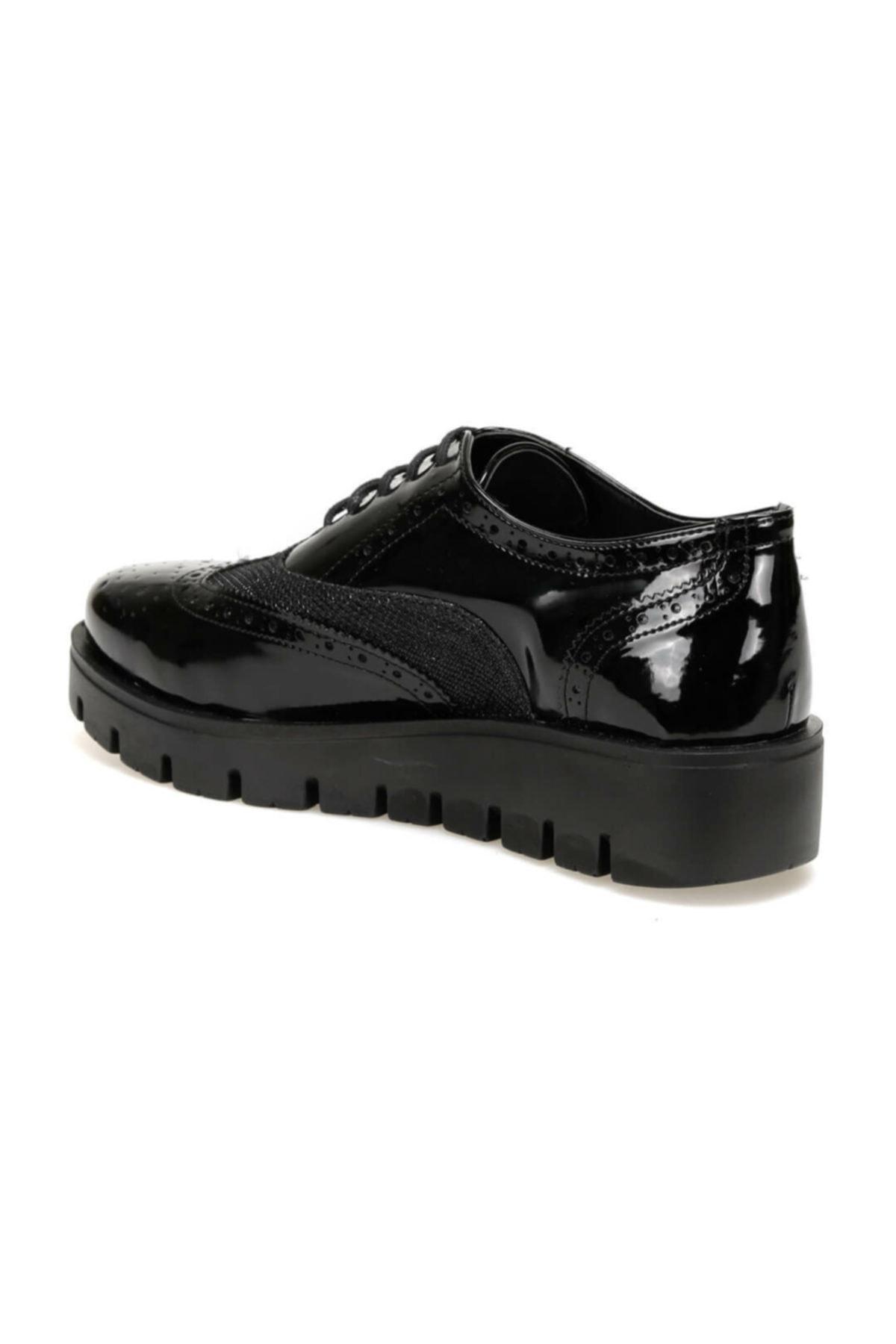 Butigo 19k-007 Siyah Kadın Oxford Ayakkabı 2
