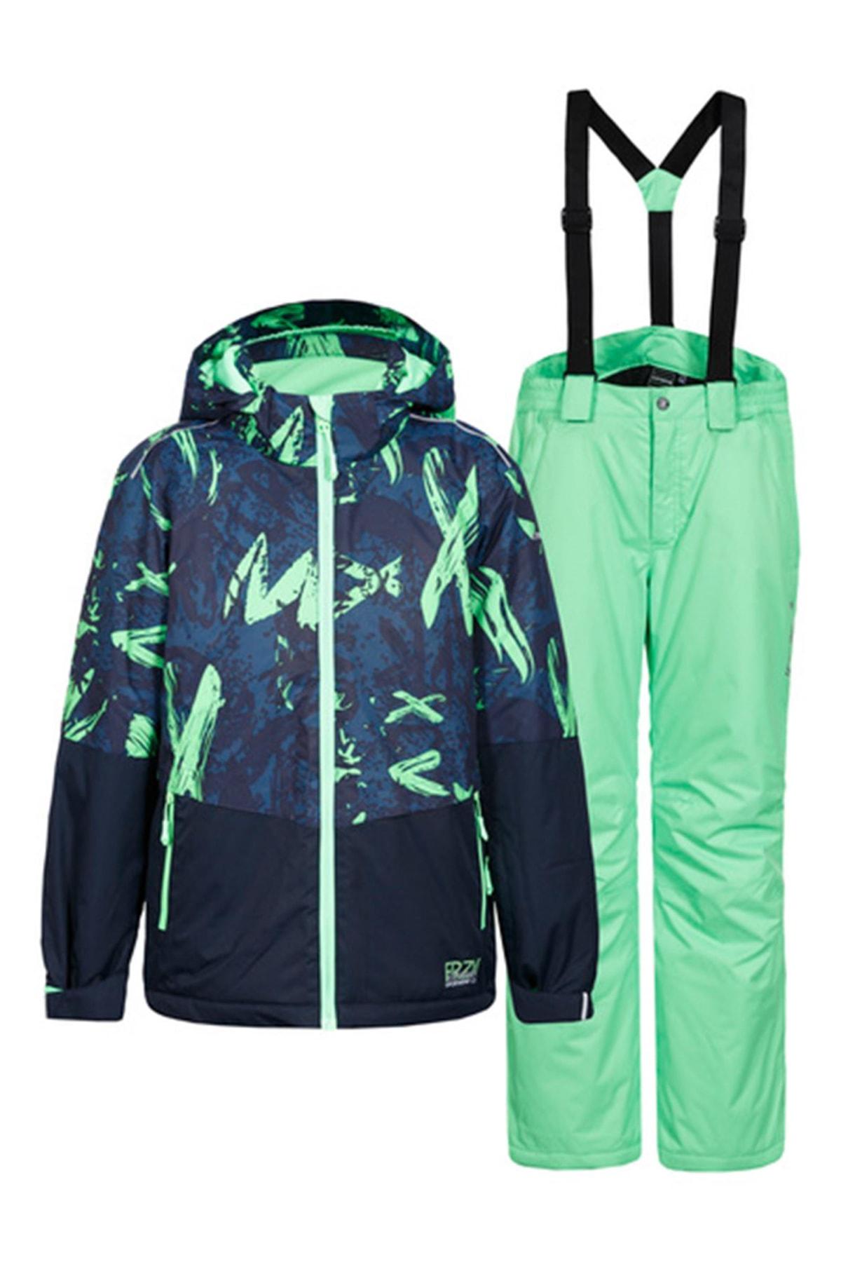Icepeak Lacivert Çocuk Kayak Takımı 52131-522-365 Hagan Jr 1