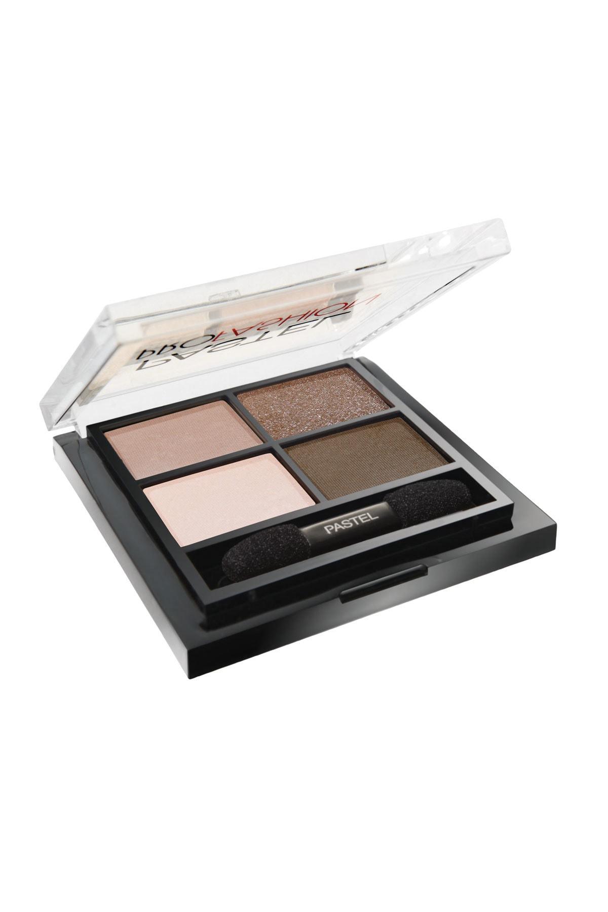 Pastel 4'lü Göz Farı - Eyeshadow Quad No 201 8690644032011 1