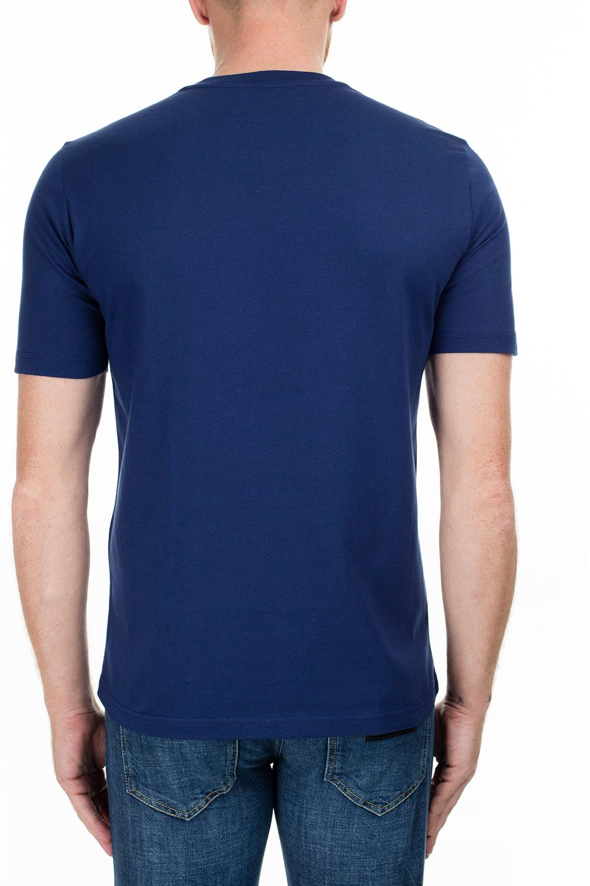 Love Moschino Erkek Lacivert T-Shirt S M47322Rm3876 Y56 2