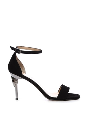KEMAL TANCA Siyah Kadın Vegan Abiye Ayakkabı 22 6086 BN AYK Y19