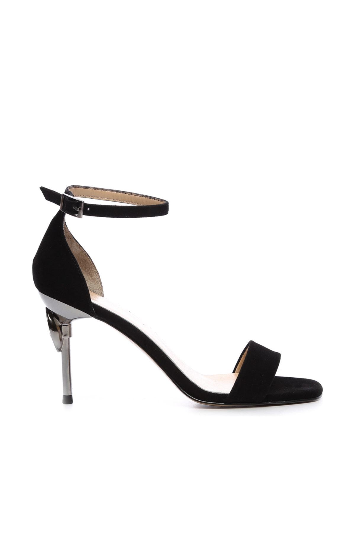 KEMAL TANCA Siyah Kadın Vegan Abiye Ayakkabı 22 6086 BN AYK Y19 1