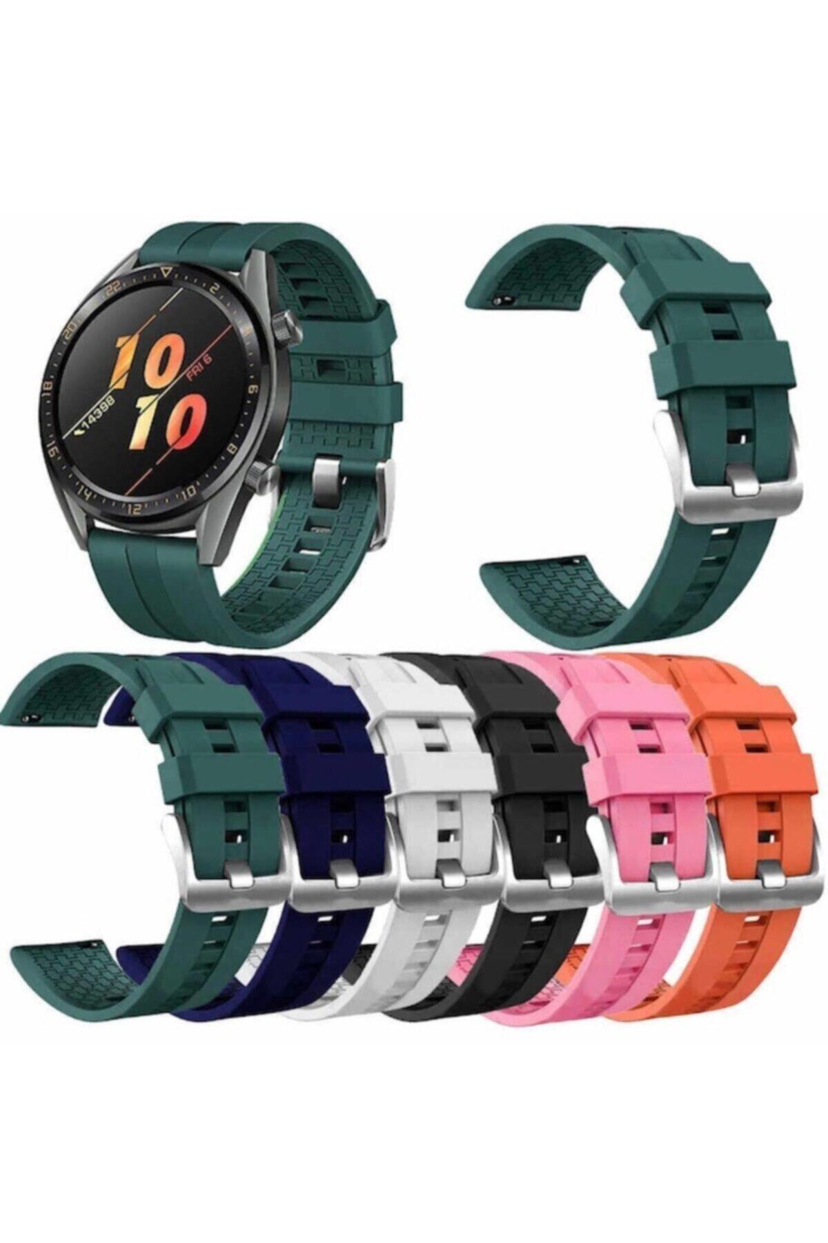 Ekoodukkan Huawei Gt 2 - Honor Magic Watch 2 46mm Akıllı Saat Silikon Kordon 2