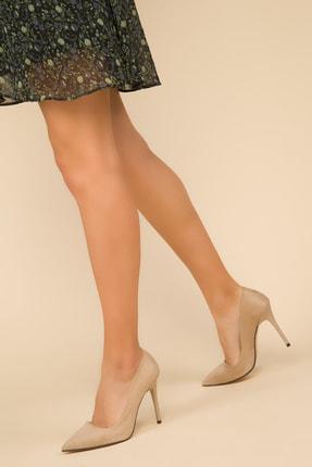 SOHO Ten Süet Kadın Klasik Topuklu Ayakkabı 14315