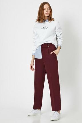 Koton Kadın Dügme Detayli Pantolon