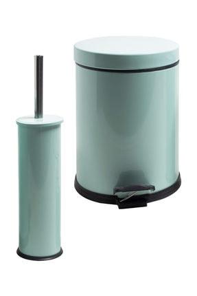 Foreca 2 Li Çöp Kovası Banyo Seti Mint
