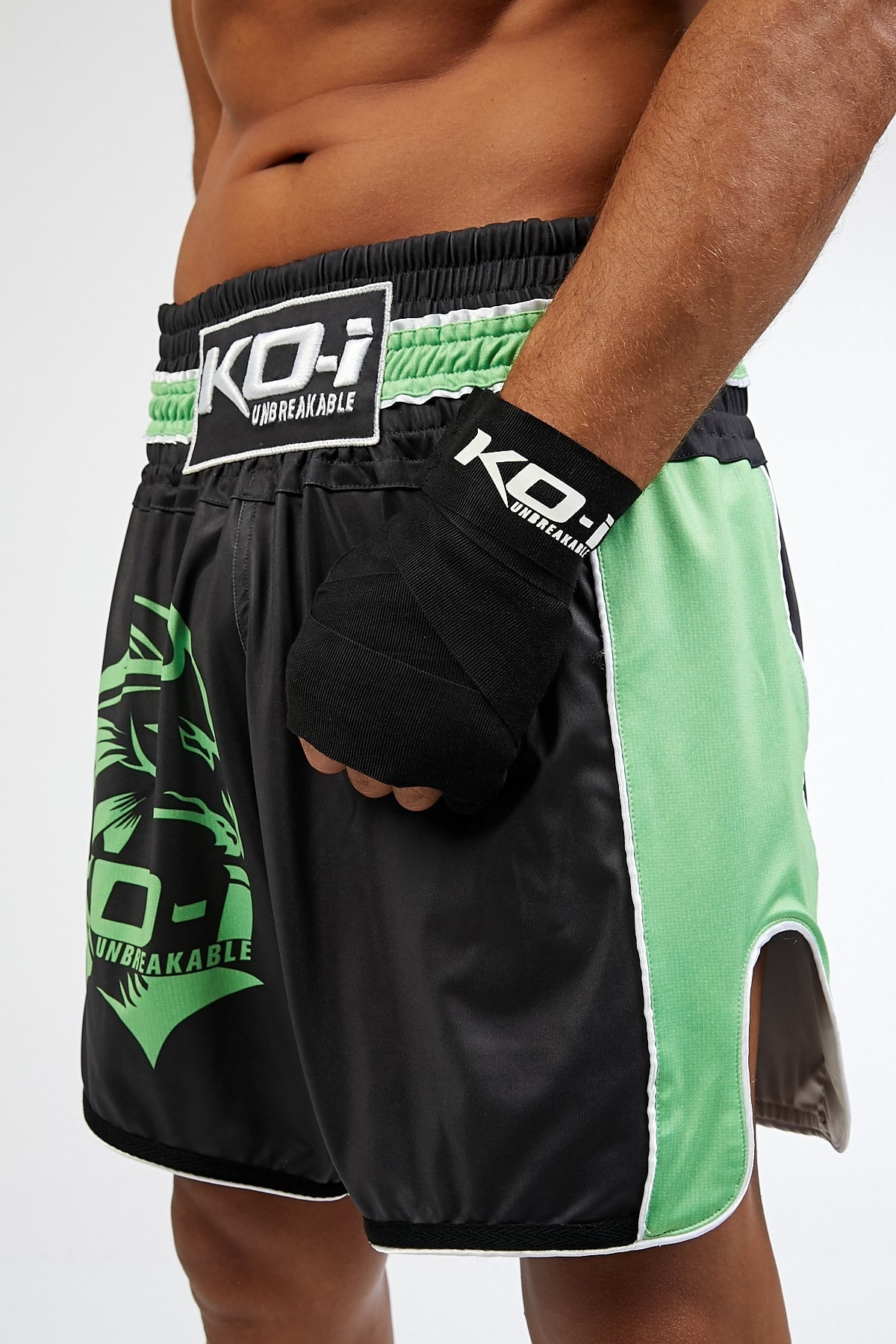 KO-I FIGHT Ko-ı Neon Logo Traınıng Short, Antreman Şortu 2