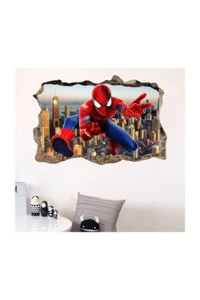 KT Decor Erkek Çocuk Odası Spidermen Duvar Dekoru