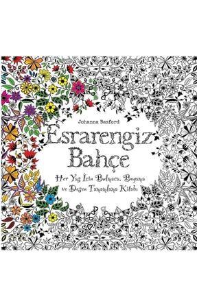 Edam Yayınları Esrarengiz Bahçe Johanna Basford