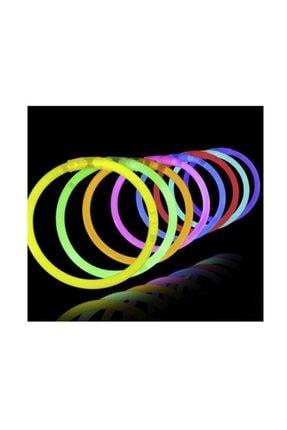 Dolphin Glow Stıck Neon Çubukları Parti Ürünü 10 Adet Yılbaşı