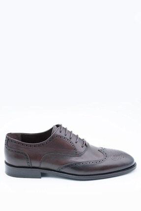 İgs Erkek Deri Klasik Ayakkabı I152032-1 M 1000 Kahve