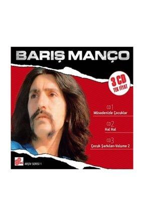 Pal CD - BARIŞ MANÇO - Arşiv Serisi 1 (3CD)
