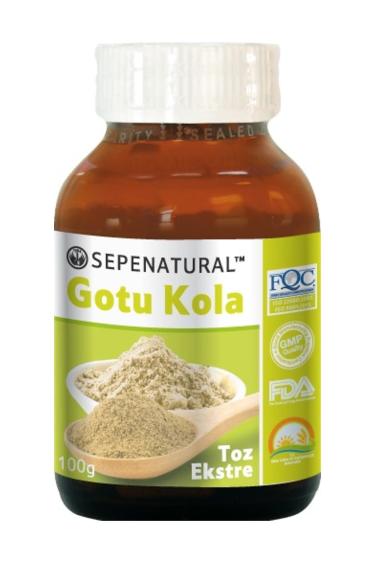 Sepe Natural Gotu Kola Extract Gotu Kola Toz Ekstrakt Ekstresi 100 Gr 1