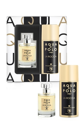 Aqua Di Polo 1987 La Rocco Kadın Parfüm-Deodorant Set APPXGR03EPD