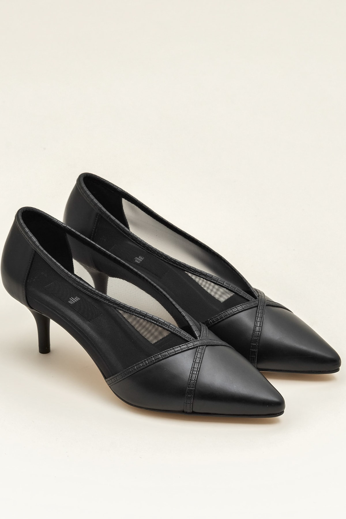 Elle Shoes MIKENNAA Siyah Kadın Ayakkabı 2