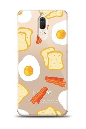 Eiroo Huawei Mate 10 Lite Breakfast Resimli Kılıf