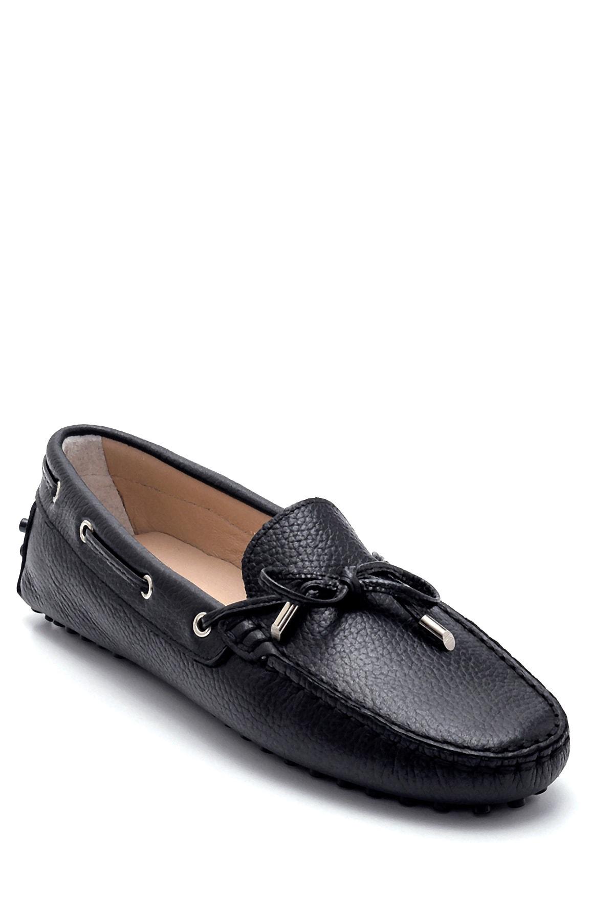 Derimod Kadın Deri Fiyonk Detaylı Loafer 2