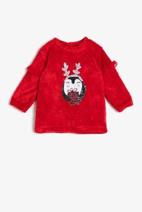 Koton Kız Bebek Kırmızı Elbise