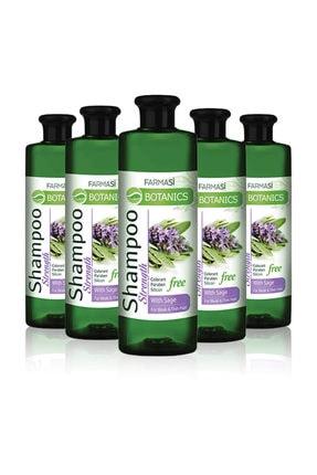 Farmasi Botanics Adaçayı Özlü Güçlendirici Şampuan-500ml 5 Adet