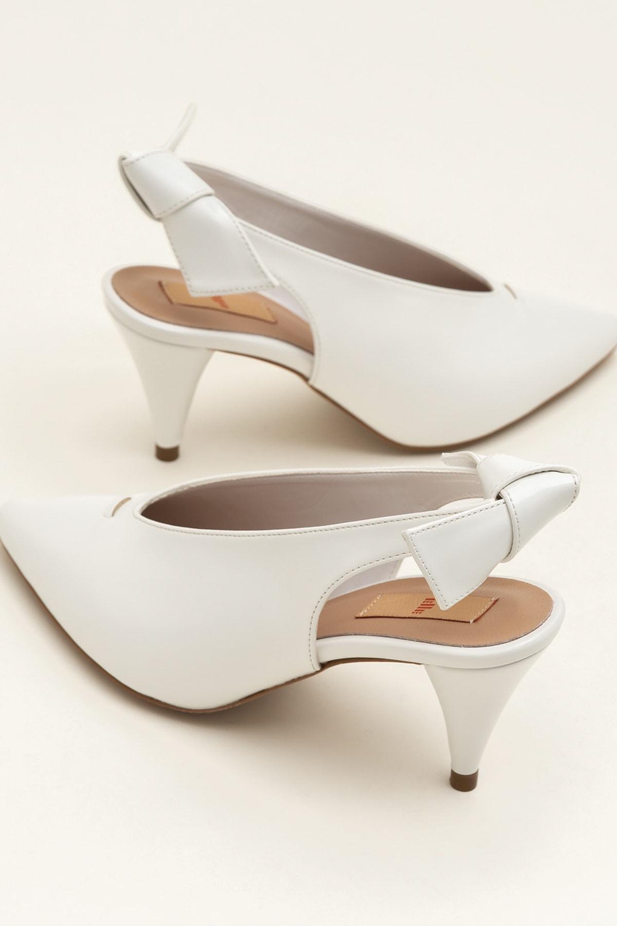 Elle Shoes NELIDA-1 Beyaz Kadın Ayakkabı 1