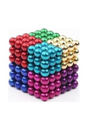 Sezy 216 Parça 5mm Mix Neocube Sihirli Toplar Manyetik Neodyum